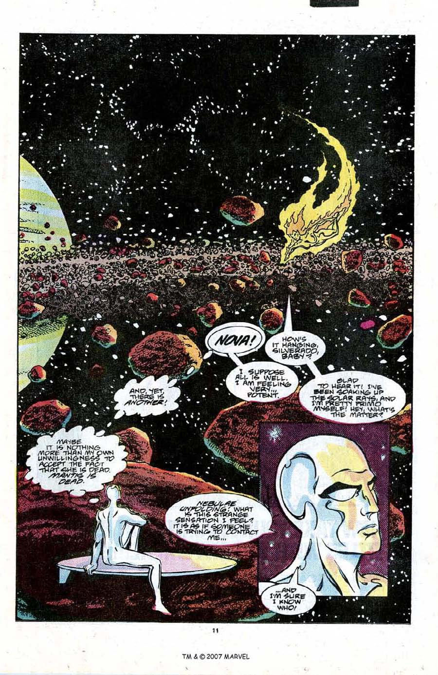 Read online Silver Surfer (1987) comic -  Issue #21 - 13