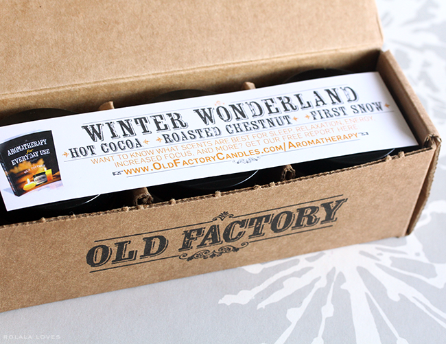 Old Factory Candle Gift Set, Old Factory Candles, Old Factory Candle Review, Old Factory Candle Giveaway