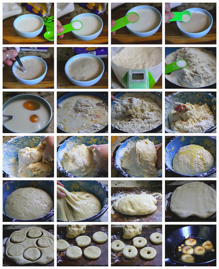 Homestyle Doughnuts Recipe