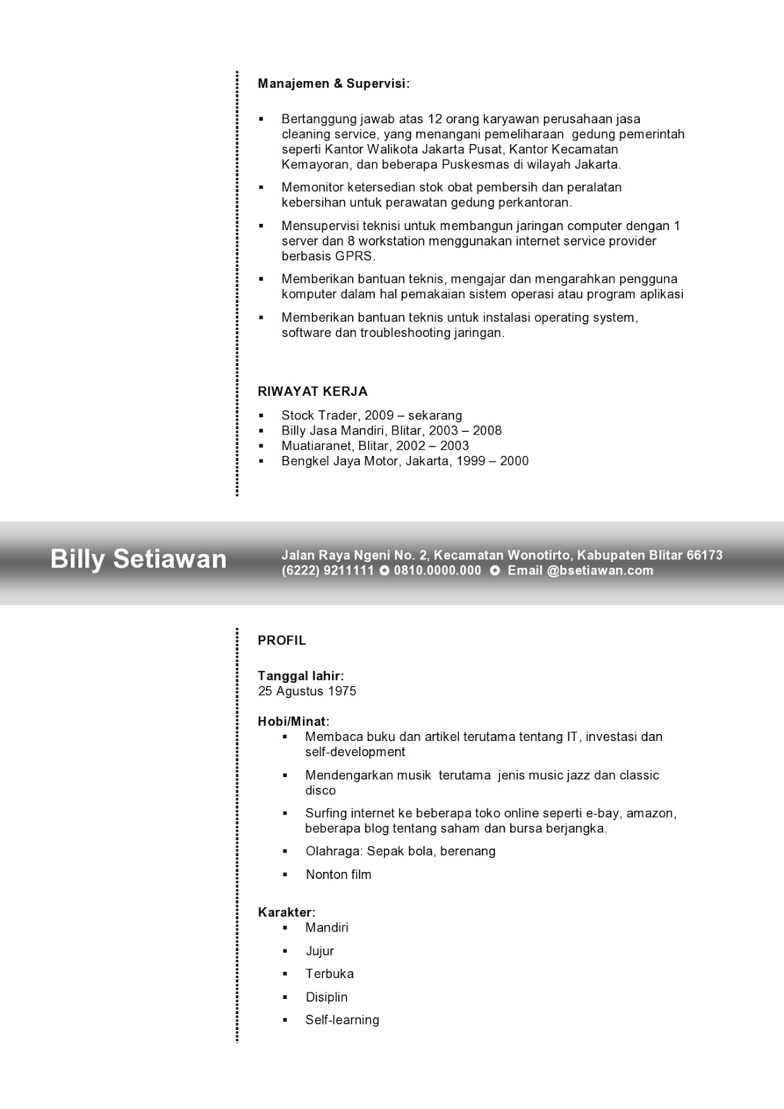 Java Programmer Fresher Resume. resume cover letter resume value ...