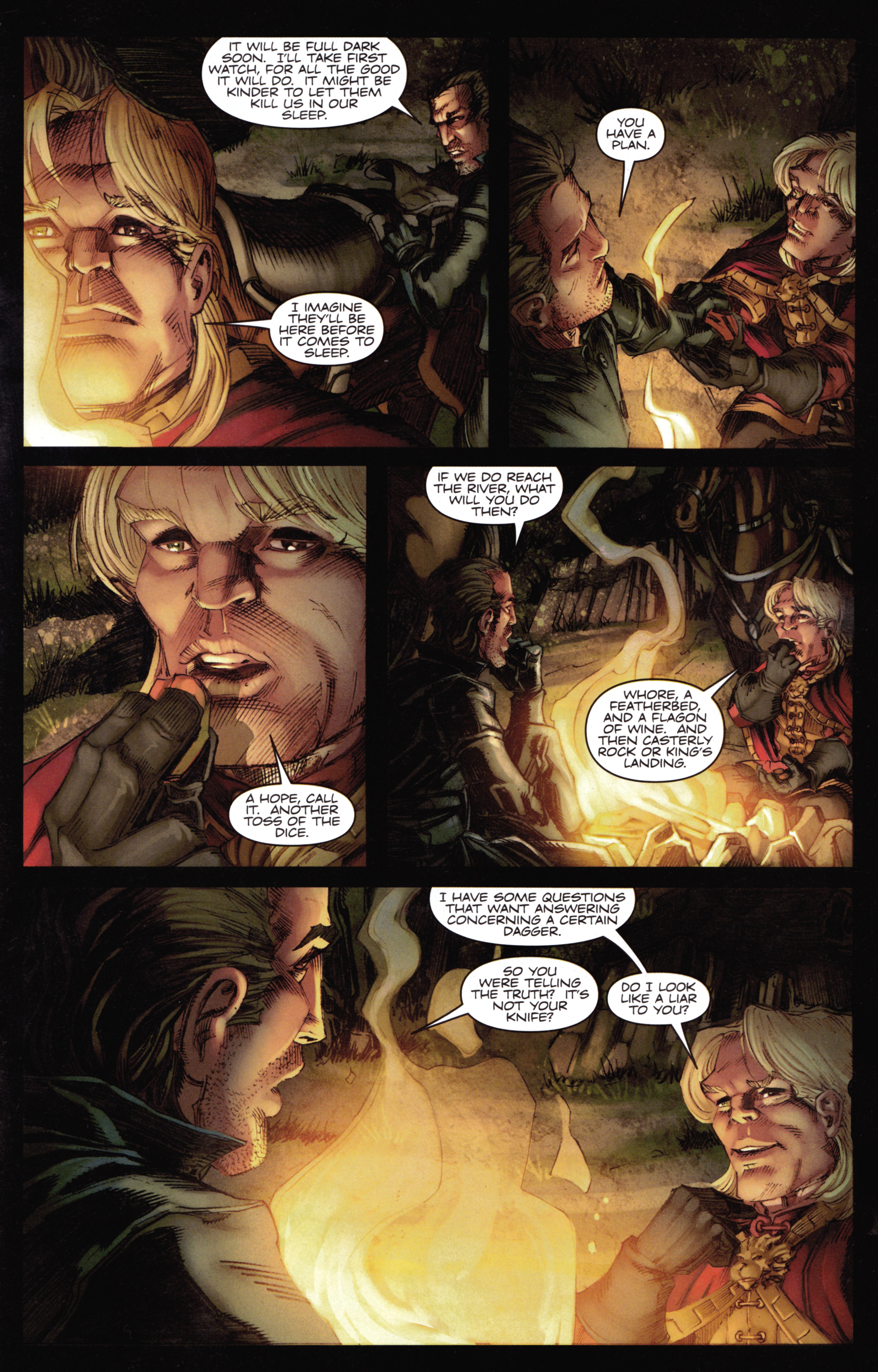 Read online A Game Of Thrones comic -  Issue #14 - 19