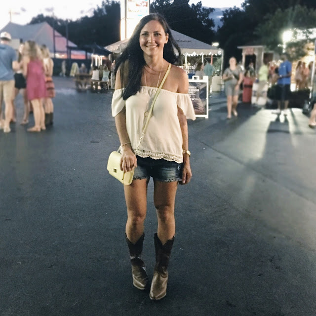 What to wear to a country concert, PNC pavilion, Rascal Flatts