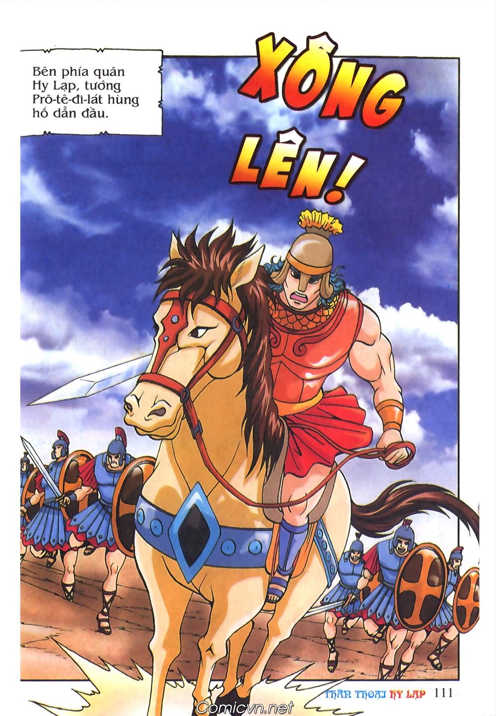 Thần Thoại Hy Lạp Màu - Chapter 55: Trận chiến đầu tiên - Pic 15
