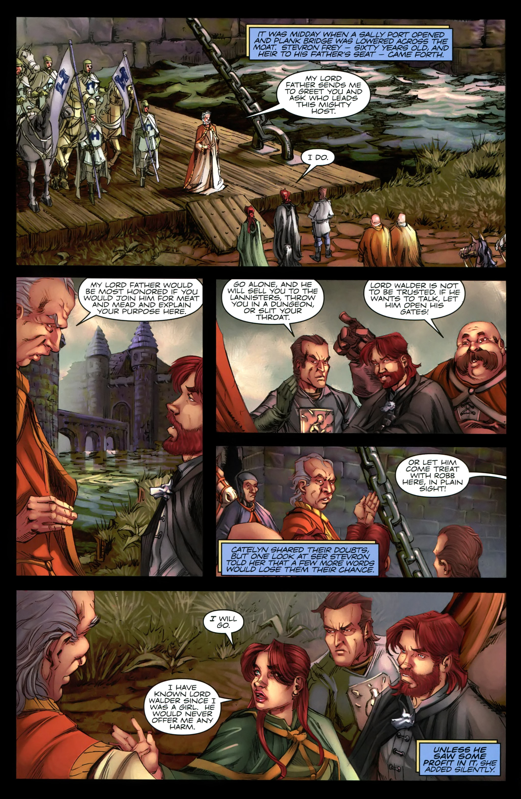 Read online A Game Of Thrones comic -  Issue #19 - 20
