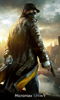 watch dogs Boot Logo for Micromax Unite 2