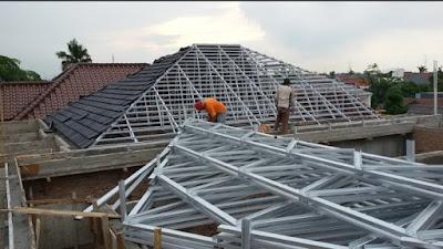 jasa pemasangan atap galvalum surabaya