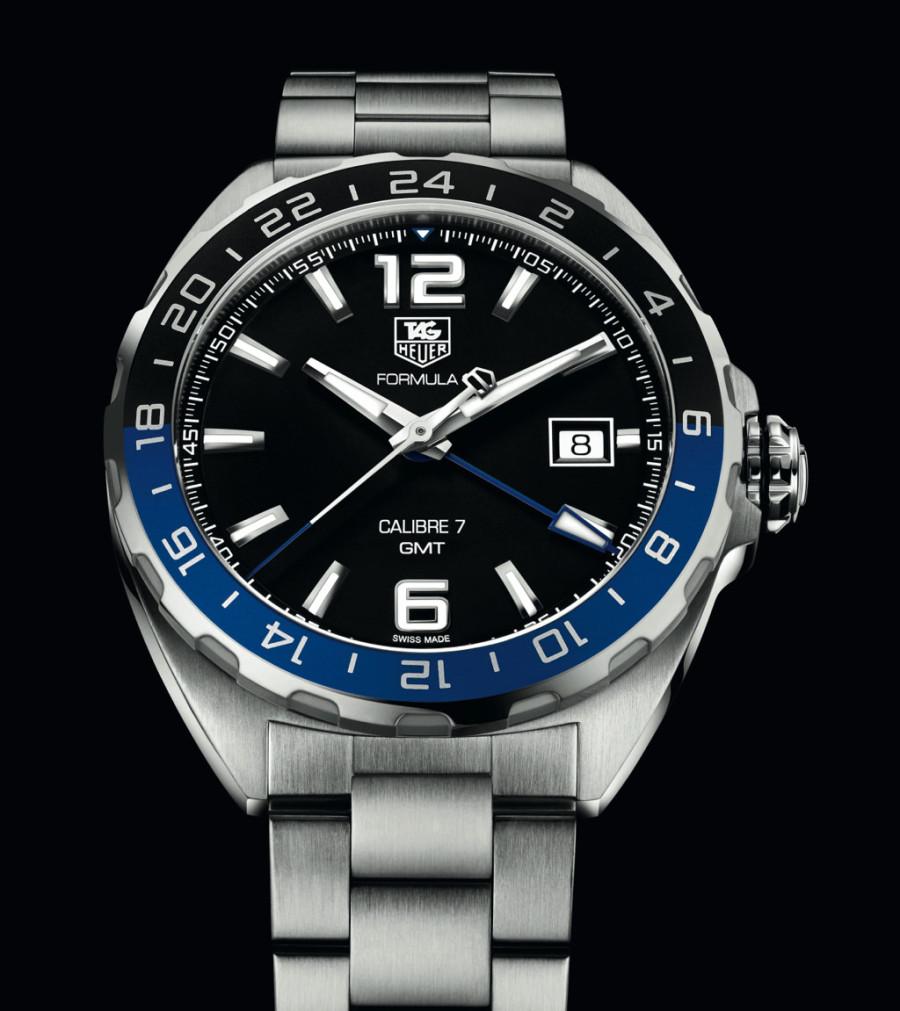 e55b9347930 TAG Heuer Aquaracer 500m Calibre 7 GMT batman replica watch review ...