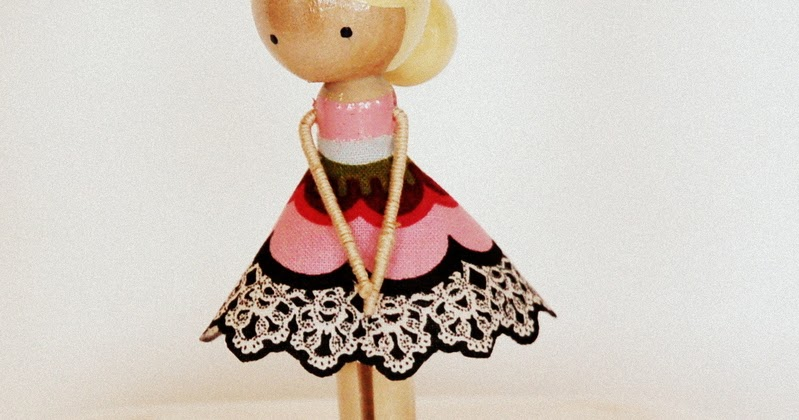 Restlessrisa Clothespin Doll