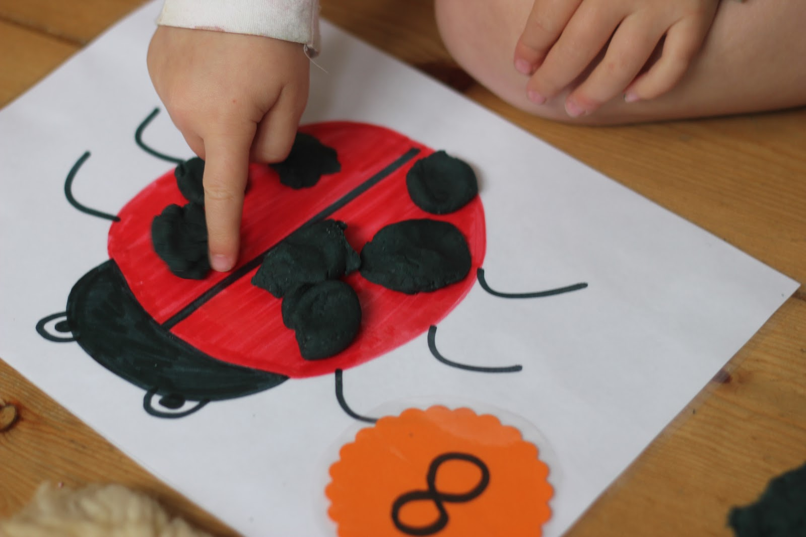 Play Dough Learning Mats For Literacy And Numeracy