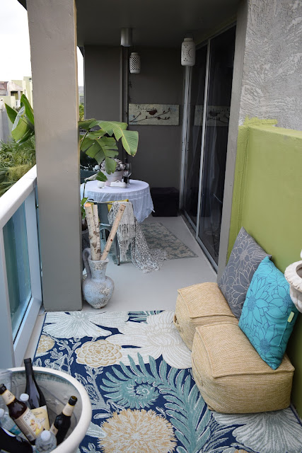 Outdoor furniture, centerpieces, Outdoor coolers,  By: JoFer Interiors