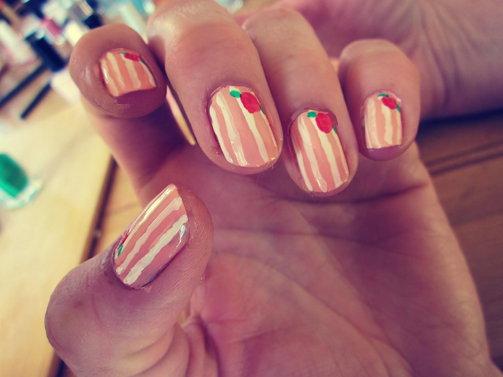 Cute Girly Nail Designs | Nail Designs, Hair Styles ...