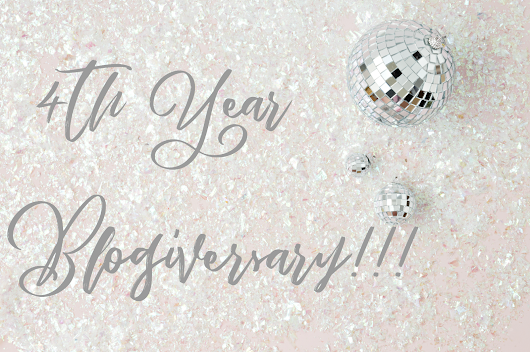 4th Year Blogiversary!!!