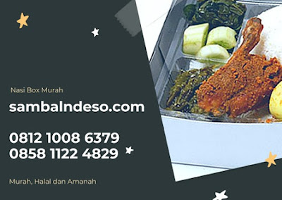 harga nasi box ayam bakar Bintaro sektor 9