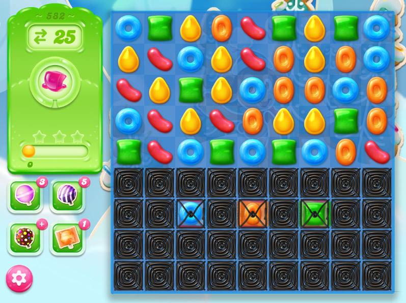 Candy Crush Jelly Saga level 582