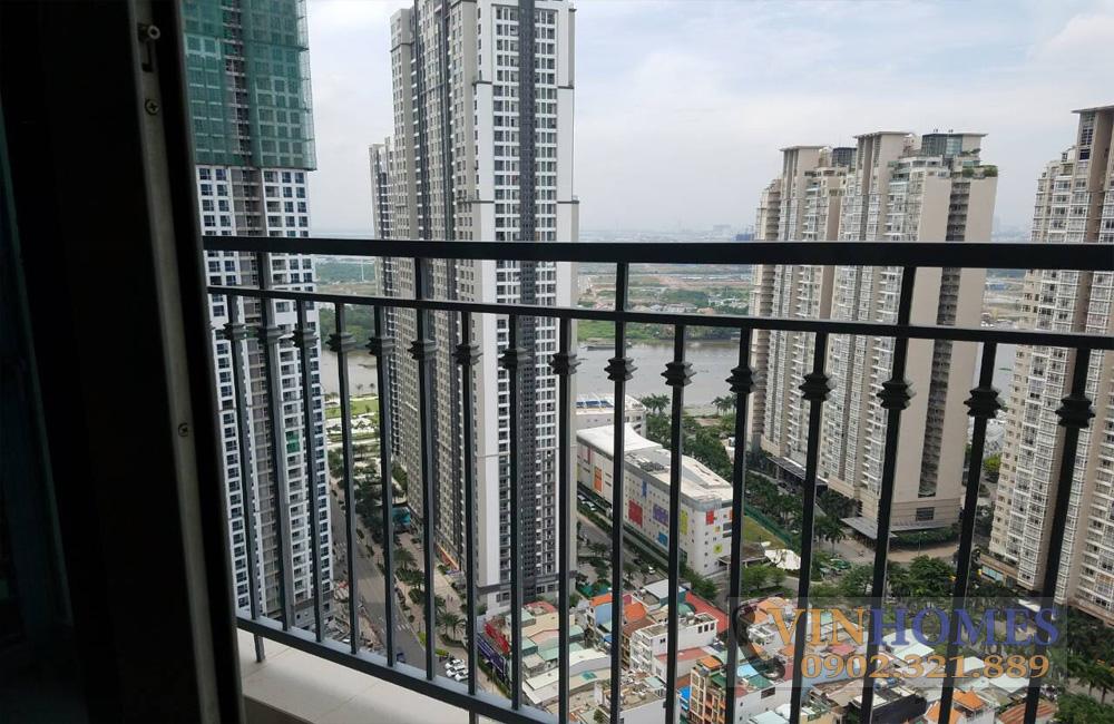 Bán căn hộ 3PN tòa nhà The Central 3 - bancong view khu Saigon Pearl