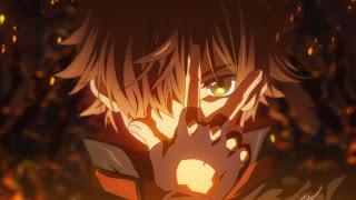 Yuuta Togashi jako Mistrz Mrocznych Płomieni