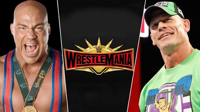 John Cena vs Kurt Angle set for Wrestlemania 35