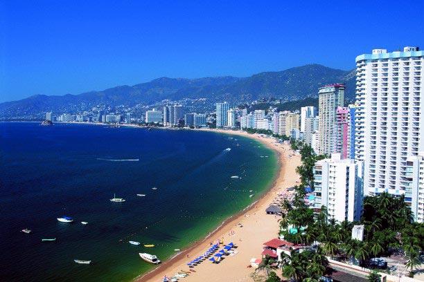 Acapulco, cidade turística do México