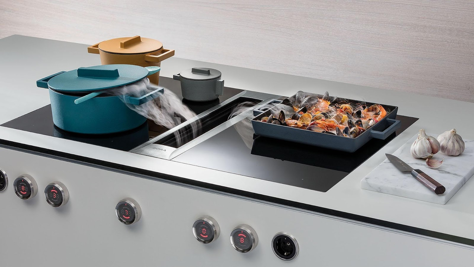 Bora Plaque De Cuisson bora, une cuisine sans hotte ! - costakies