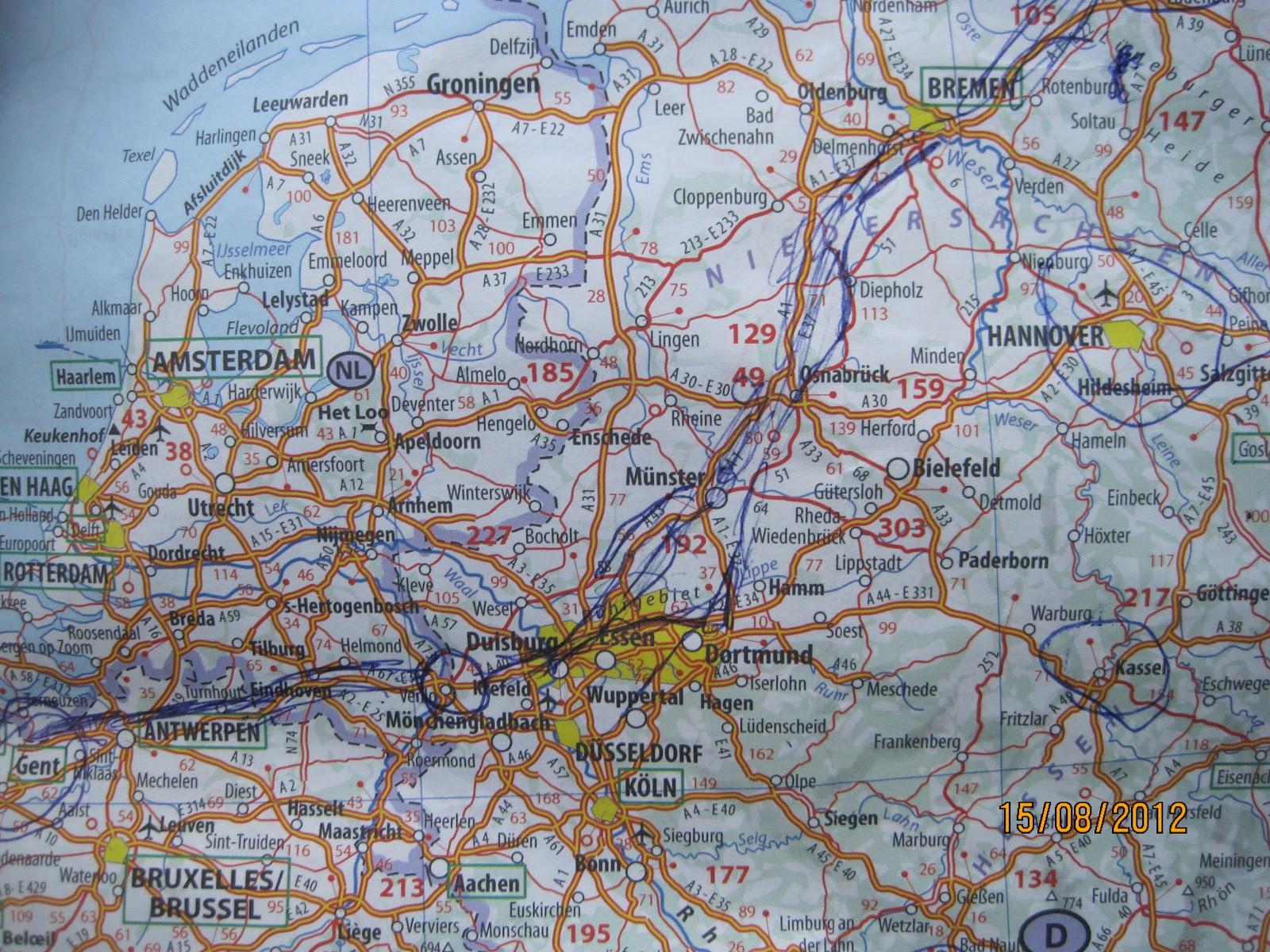Etapa 19 Bremen (Alemania) - Gante Belgica 15/08/2012   EL