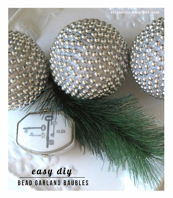 Bead Garland Baubles