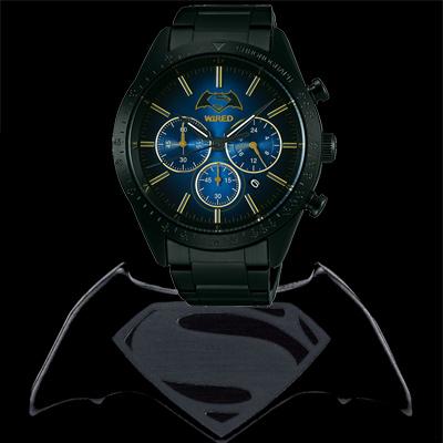 WIRED手錶 X 蝙蝠俠對超人:正義曙光 限量計時腕錶 評價 價格 加碼送電影票