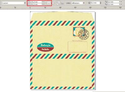 Download Settingan Blanko Undangan Model Amplop ERBA 88172 Gratis!