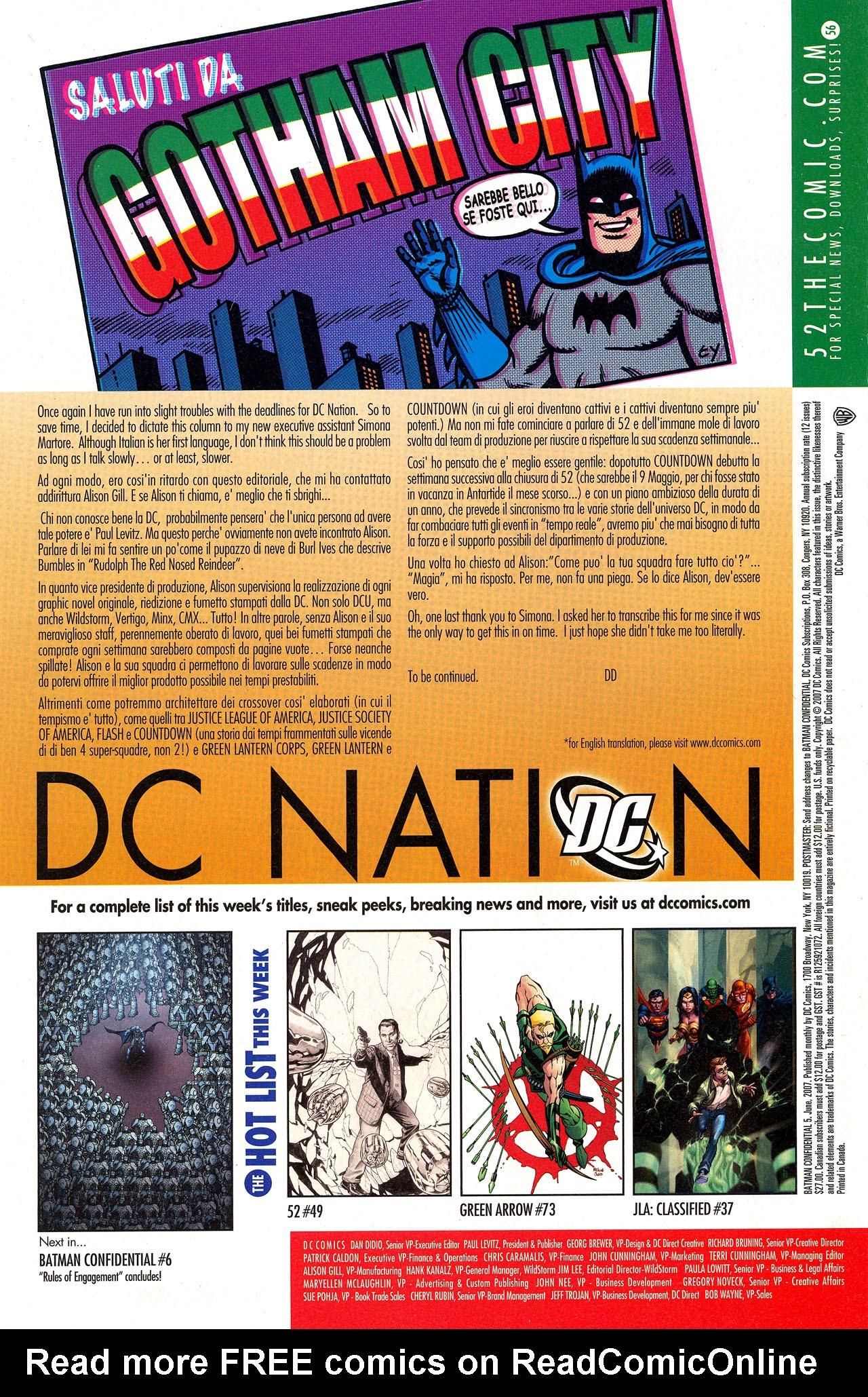 Batman Confidential Issue #5 #5 - English 22