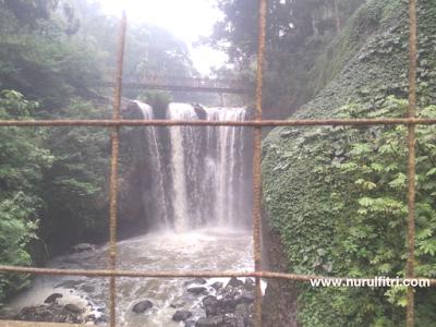 Jalur Penyangga Kehidupan Air Terjun (Curug) Ciomas Maribaya - Bandung