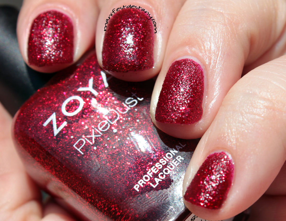 Zoya PixieDust Collection Swatches and Review