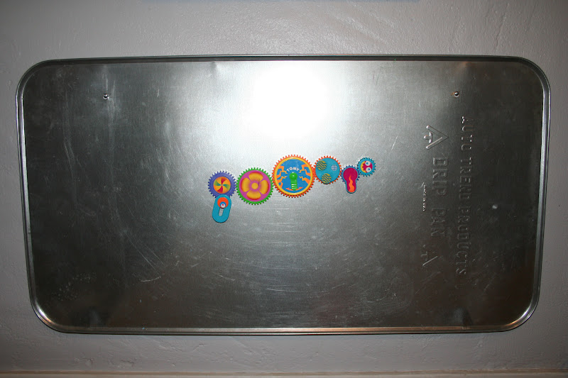 Learning At Play Oil Pan Magnet Board