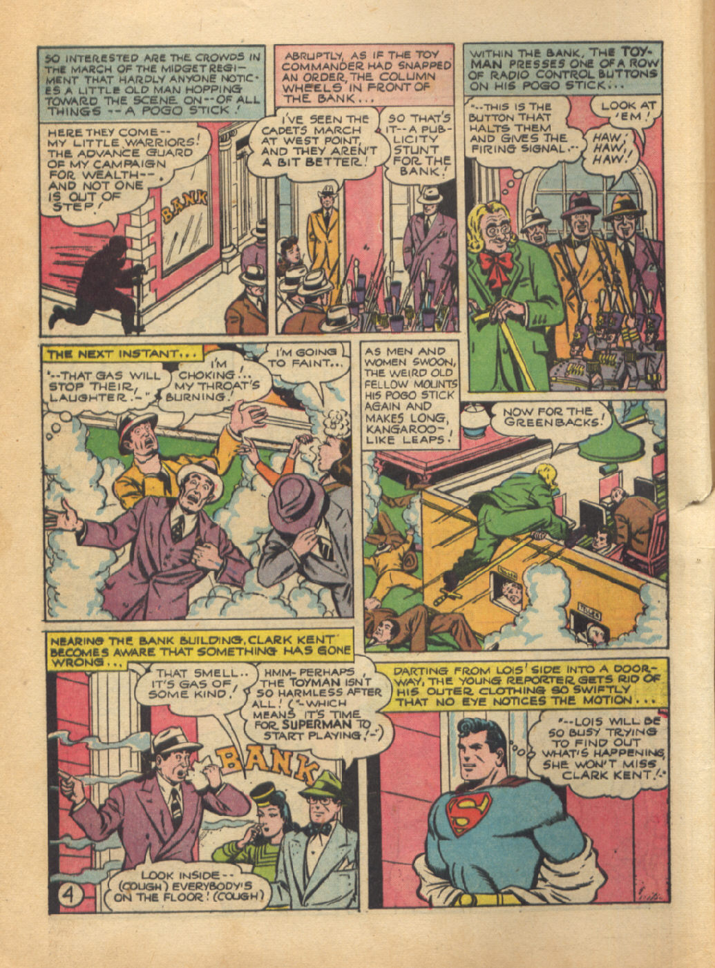 Read online Action Comics (1938) comic -  Issue #64 - 6