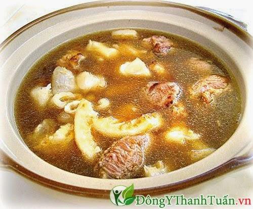 Bao tử heo hầm với hạt sen tốt cho sức khỏe dạ dày