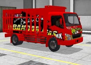Livery Truk Bussid Canter Bandar Gas