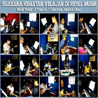 kursus / les gitar, piano keyboard, bass, drum di jakarta timur