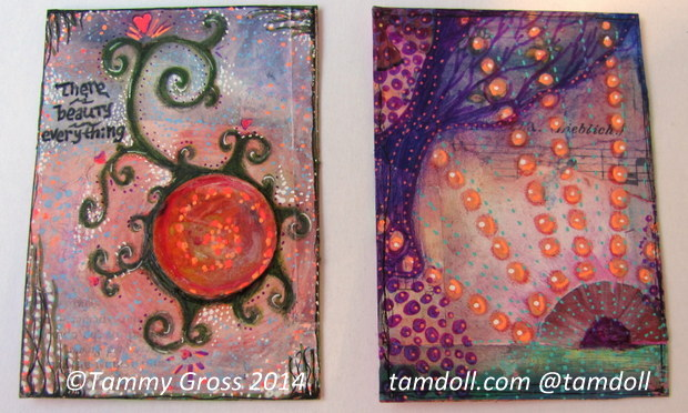 completed ATCs for Reduce, Reuse, Recycle Swap with Tamdoll