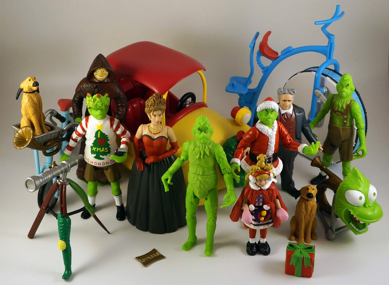 How The Grinch Stole Christmas Movie 2000.Toys Are Life Retro Review How The Grinch Stole Christmas