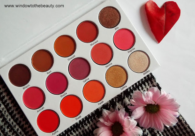 Blush Tribe paleta
