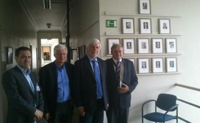 Επίσκεψη του Περιφερειάρχη Πελοποννήσου στο κέντρο αεροδιαστημικής έρευνας στις Βρυξέλες