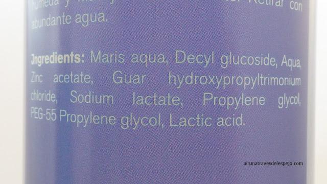 ingredientes gel facial dermakosmetics limpieza facial