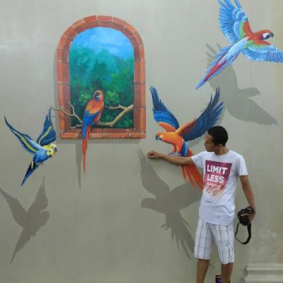 Jungkir Walik 3D Trick Art Pertama Purwokerto