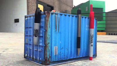 Desktop Shipping Container
