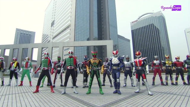 OOO, Den-O, All Riders The Movie: Let's Go Kamen Riders Subtitle Indonesia