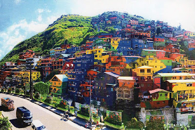 Juan's Must See! La Trinidad Houses Becomes A Giant Mural. Wow!