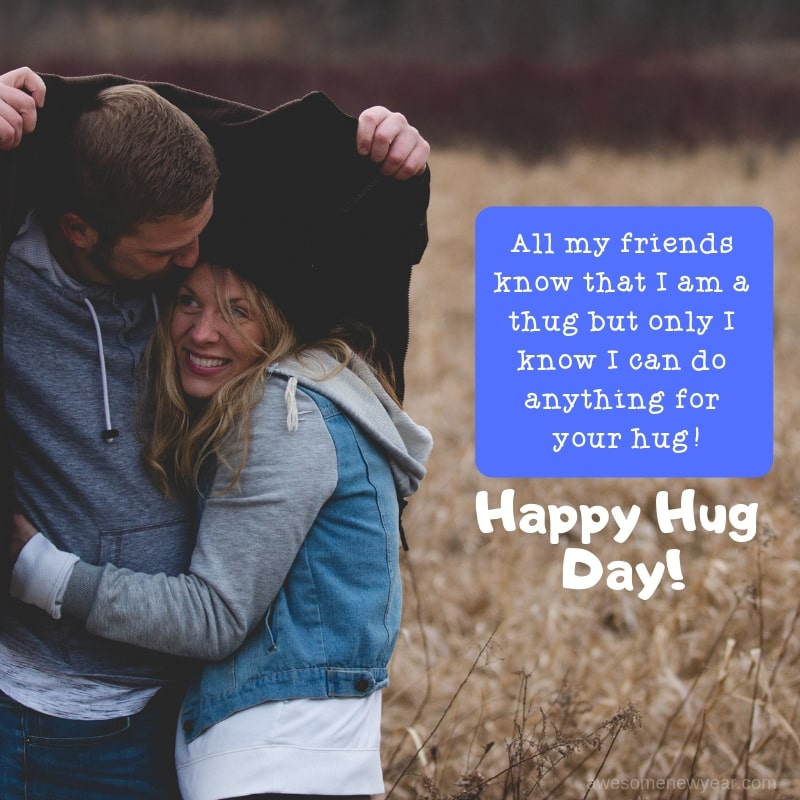 Hug Day Quotes Send To Your Girlfriend Boyfriend Wife Husband
