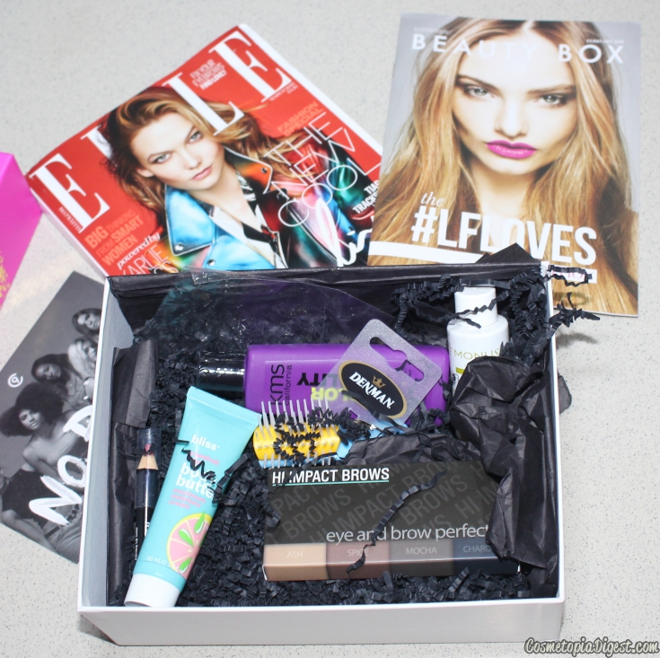 LookFantastic Beauty Box February 2016 review and unboxing.