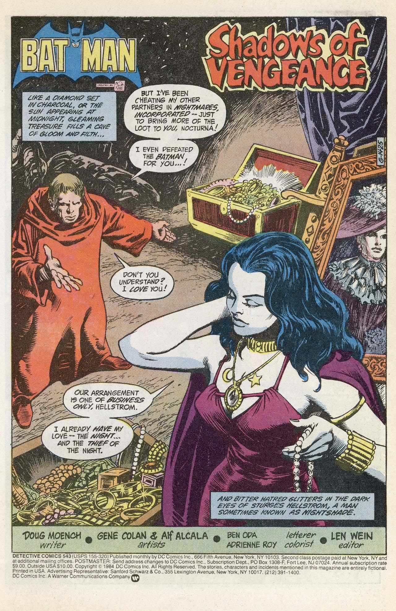 Detective Comics (1937) 543 Page 2