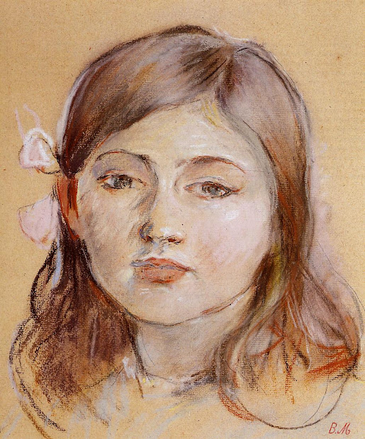 Portrait of Berthe Morisot Julie