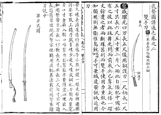 Ming Dynasty two-handed sabre Dandao
