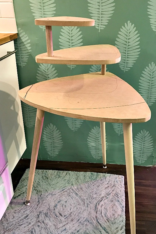 Mid century modern side table plans